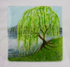 Tara's Willow by Pezzulich Glassworks ... I love willow trees!!!