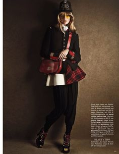 julia stegner by giampaolo sgura for vogue germany
