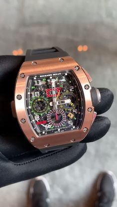 Richard Mille, Best Watches For Men, Cool Watches, Expensive Watches, Hand Watch, Fitness Gifts, Patek Philippe, Beautiful Watches, Luxury Watches