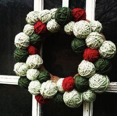 Decoração de Natal com guirlanda     -