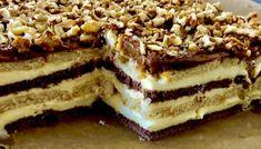 Księżniczka - ciasto bez pieczenia - Blog z apetytem Sweet Recipes, Cake Recipes, Polish Recipes, Polish Food, Food Cakes, Baking Tips, Tiramisu, Paleo, Food And Drink