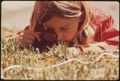 5. A snapshot of my day: studying plants. Photograph by Bill Gillette. #modcloth#makeitwork