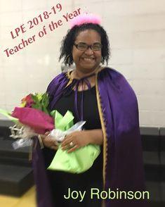 We are so proud to announce next year's Lake Park Elementary Teacher of the Year Joy Robinson! #weourteachers #learningatLPE