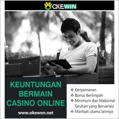 Apakah Anda orang yang mencari keuntungan dari bermain kasino online? Jika ya, di sini kami memiliki solusi sempurna untuk Anda. Klik di bawah ini untuk tahu lebih banyak  #Online #Casino #Benefits #Gambling