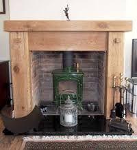 Image result for oak beam fireplace