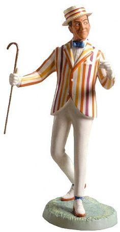 WDCC Disney Classics Mary Poppins Bert Feeling Grand #WDCCDisneyClassics #Art. Cane: Bronze.