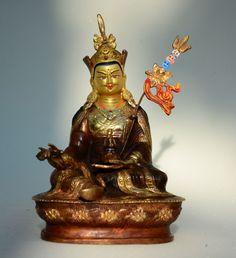 Padmasambhava in his glory and mystery