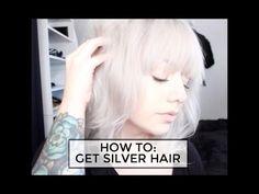 HOW TO GET SILVER HAIR | Pravana Silver