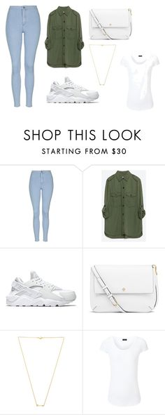 """""""Untitled #24"""" by xuxu-22 on Polyvore featuring Topshop, Zara, NIKE, Tory Burch, Wanderlust + Co and Joseph"""