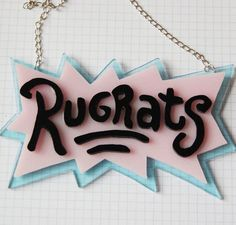 Acrylic Rugrats Necklace, $20.30 | 18 Cool Etsy Products All '90s Nickelodeon Kids Need Now