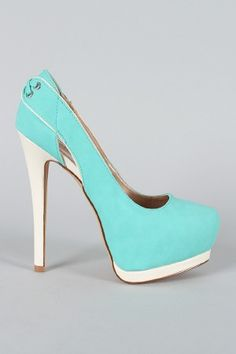 OMG these might be it Tiffany Blue Wedding Shoes!