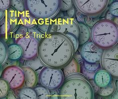 Time Management Tips & tricks Joy Of Life, Time Management Tips, Productivity, Career, Carrera