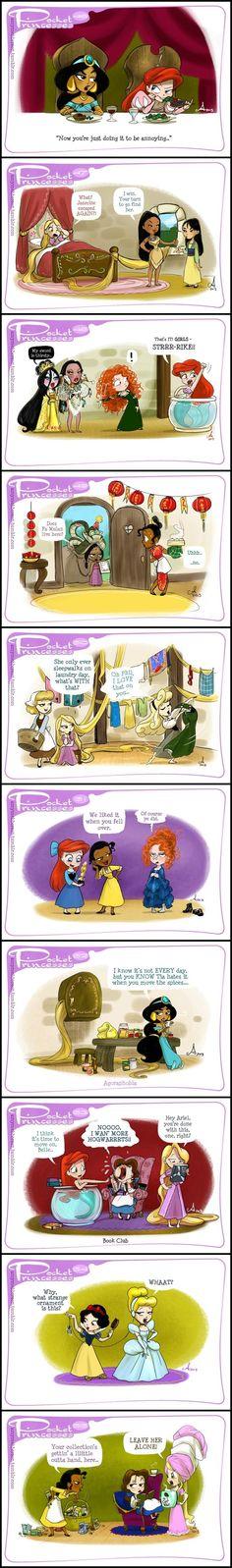 38 Ideas Funny Disney Comics Pocket Princesses Rapunzel For 2019 Disney Pixar, Walt Disney, Cute Disney, Disney Dream, Disney Girls, Disney Cartoons, Disney And Dreamworks, Disney Magic, Funny Disney