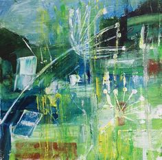 The Estuary from Snapes by Maggie Rowe in From Natural to Abstraction at Harbour House, spring 2017