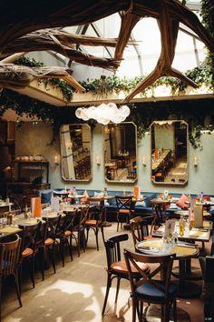 Le flandrin paris joseph dirand restaurant design for Hotel boulevard richard lenoir 75011 paris