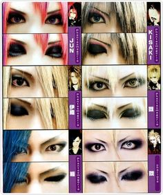 visual kei makeup | Tumblr