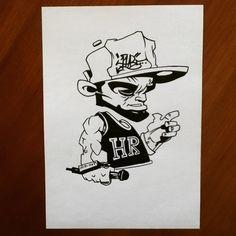 A new character... (#oldschool) #art#artsy#artistic#artwork#artbook#graff#graffart#grafffigure#graffcharacter#graffiti#graffitiart#graffitifigure#graffiticharacter#character#figure#doodle#pencil#pencildrawing#draw#drawing#sketch#sketching#sketchbook#blackbook#hamdmade#selfmade