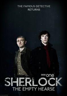 Sherlock Season 3 poster makes me happy. :D