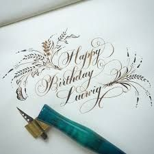 Image result for flourished copperplate calligraphy