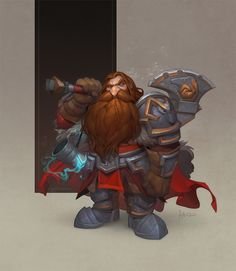 [Art] Rodek - Dwarf fighter, former soldier, and the voice of reason for his party : DnD Game Character Design, Character Concept, Character Art, Concept Art, Fantasy Dwarf, Fantasy Male, Dwarf Fighter, Avatar, Vintage Fairies