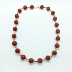 Dark red coral necklace with hematite Red Coral, Dark Red, Beaded Necklace, Jewelry, Beaded Collar, Jewlery, Pearl Necklace, Jewerly, Schmuck