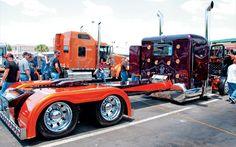 Custom 379 PETERBILT Show Trucks | Custom Big Rig Truck Show - Chrome Show Photo Gallery