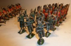 Lot 48 - Britains twelve Seaforth Highlanders from sets 88 and 112 twelve charging (F, six rifles damaged)
