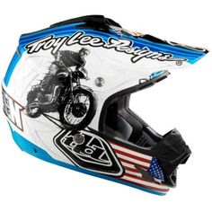 Troy Lee Designs McQueen SE 3 MotoX/Off-Road/Dirt Bike Motorcycle Helmet http://downhill.cybermarket24.com/troy-lee-designs-mcqueen-se-3-motoxoffroaddirt-bike/