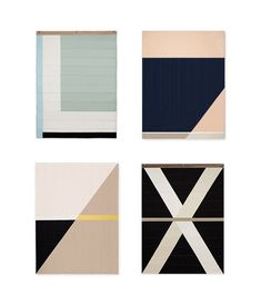 Louise Gray quilt - modern, graphic