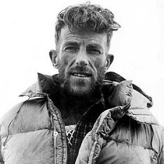 Sir Edmund Hillary 1953 - first to climb Mount Everest with Sherpa, Tenzing Norgay. Mount Everest is the highest point on earth, 29,028 ft.