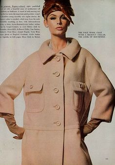 Jean Shrimpton, September Vogue 1964 | Kristine | Flickr