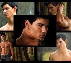 taylor lautner [shirtless] aka jacob black in the movie saga twilight wallpaper #Twilight