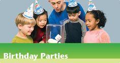 Birthday Parties - Science World