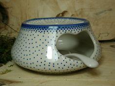 "Teekanne mit Stövchen ""Edition"" 1000 ml, Unikat 98, Keramik Geschirr - BSN 22048 004"