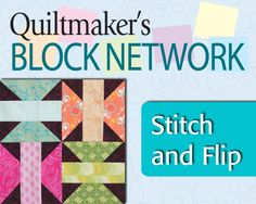 Stitch and Flip the Simple Way - Butterfies