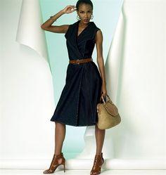 Patron de robe - Vogue 8992