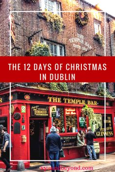 "The 12 Days of Christmas in Ireland. In Ireland, it's all about the ""craic"", being with family, having fun and simply enjoying the energy of the season."