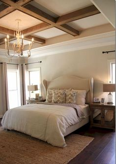 Master Bedroom Ceiling Designs Entrancing Bedroom Tray Ceilings  Design Decor Photos Pictures Ideas Design Inspiration