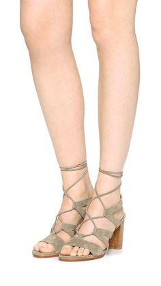 Stuart Weitzman Tie Girl Bingo Sandals