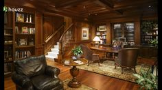 Traditional Home Office Photos Design, Pictures, Remodel, Decor And Ideas    Page 19
