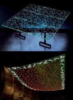 LED is all the rage when it comes to lighting designs for home. While most new LED light designs are remakes of the tried and true, there are designers Led Light Design, Lighting Design, Light Table, Faeries, Things To Come, House Design, Lights, Deco, Rage