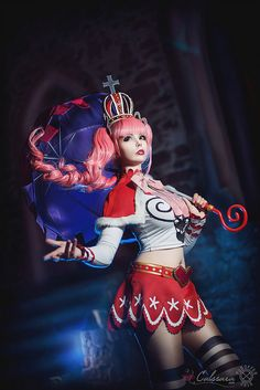 I remade some parts of my Perona cosplay and did a new shooting together with the awesome Pugoffka! The costume is totally selfmade. One Piece - Perona III Kawaii Cosplay, Cosplay Anime, Cute Cosplay, Cosplay Dress, Amazing Cosplay, Cosplay Outfits, Best Cosplay, Cosplay Girls, Female Cosplay