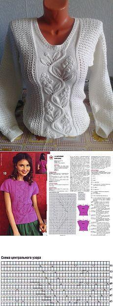 Красивый пуловер - Блог. надежда тафатулина - Группы Мой Мир