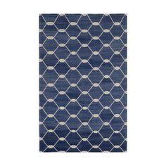 Indigo Chi Chi Kari Cotton Carpet