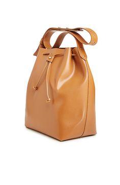 Kelsi Dagger Wythe Bucket Hobo Bag in Tan | DAILYLOOK