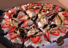 Paula's Party - Brownie Pizza