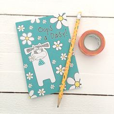 This incredibly cute cow notebook is printed in the UK on recycled paper and comes with plain pages, ready to capture your notes, doodles and daydreams. Each notebook is protected in a cellophane sleeve and will be delivered in a bubble protective mailer.