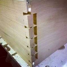 Gluing up day today...#dovetails #handcut #woodwork #joinery de edwardwalton