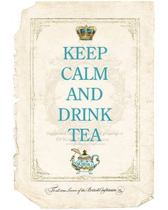Keep Calm and Drink Tea. Oh to be snuggled up with a warm cup of tea and a good book! Mousse Au Chocolat Torte, Pot Pourri, Tea Quotes, Keep Calm And Drink, Cuppa Tea, Tea Art, My Cup Of Tea, High Tea, Drinking Tea