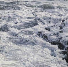 Luciano Ventrone Mutamenti, olio su lino, 2012, 100 x 100 cm